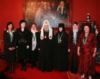 Состоялась церемония вручения Патриаршего знака Великой княгини Евдокии Московской