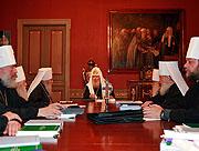 ЖУРНАЛЫ заседания Священного Синода Русской Православной Церкви от 12 октября 2007 года