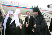 Святейший Патриарх Алексий прибыл во Францию