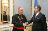 Госсекретарь Ватикана награжден украинским государственным орденом Ярослава Мудрого