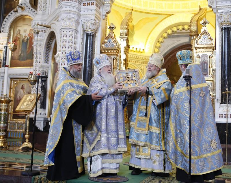 Принесение Курской Коренной иконы Божией Матери «Знамение» в Москву