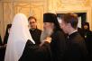 Награждение архимандрита Матфея (Мормыля) орденом святителя Макария митрополита Московского II степени