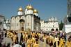 Начало крестного хода на Славянскую площадь
