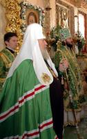 Слово Святейшего Патриарха Алексия на литургии в день памяти св. прп. Иосифа Волоцкого