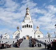 Храм-памятник в честь Всех святых в Минске