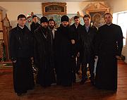Епископ Гатчинский Амвросий совершил первое архиерейское богослужение в более чем 700-летней истории Антониево-Дымского мужского монастыря