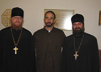 Глава Русской Духовной Миссии в Иерусалиме в ходе паломнического визита в Иорданию встретился с принцем Гази бен Мухаммедом