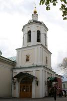Престольный праздник отметил московский храм апостола Иакова Зеведеева