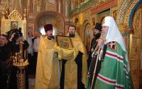 Слово Святейшего Патриарха Алексия после богослужения в храме Спаса Преображения на Песках