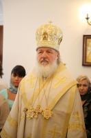 Святейший Патриарх Московский и всея Руси Кирилл совершил Божественную литургию в храме святых Константина и Елены в Бююк-Дере