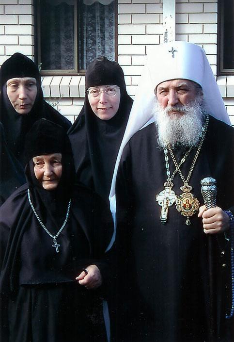 Митрополит Лавр с настоятельницей женской обители в Австралии игуменией Евпраксией (фото сайта РПЦЗ)