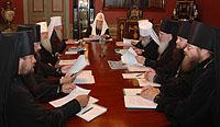 Священный Синод постановил произвести пять новых епископских хиротоний