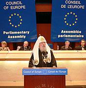 Ответы Святейшего Патриарха Алексия на вопросы членов ПАСЕ