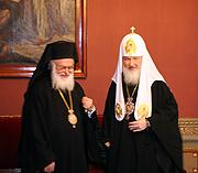 Святейший Патриарх Кирилл встретился с Предстоятелем Албанской Церкви