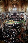 Московские настоятели отмечают большое количество прихожан, посетивших храмы в день праздника Рождества Христова