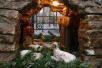 Рождественский вертеп. Храм Воскресения Словущего на Арбате (Подворье Иерусалимской Православной Церкви)