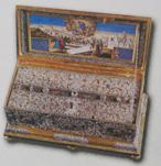 Часть Пояса Пресвятой Богородицы в монастыре Ватопед