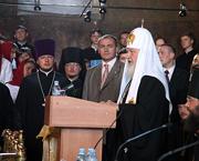 Состоялась беседа Святейшего Патриарха Кирилла с архиереями, духовенством, монашествующими, преподавателями и студентами Киевской духовной академии и православной интеллигенцией Украины