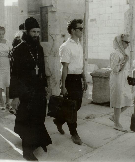 Игумен Лавр и Виктор Лохматов в Афинах (фото сайта РПЦЗ)