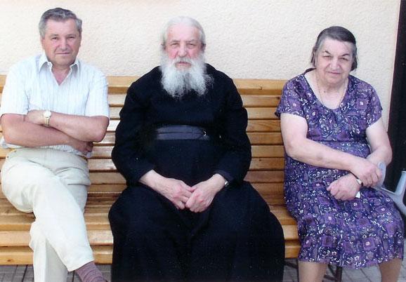 Митрополит Лавр с братом и сестрой в Словакии (фото сайта РПЦЗ)