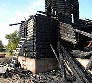 В Карелии в праздник Рождества Пресвятой Богородицы сгорел храм