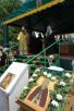 Освящение храма в честь прп. Сергия Радонежского и закладного камня в основание строительства Духовно-культурного центра Московской Патриархии (Дивноморск, 16 июня 2005 г.)