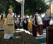 Проповедь Святейшего Патриарха Кирилла в Киево-Печерской лавре в день памяти святого равноапостольного князя Владимира