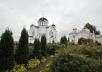 Патриарший визит в Белоруссию. День третий. Божественная литургия в Полоцком Спасо-Евфросиниевском монастыре.