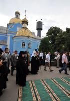 В ходе пастырской поездки по Ровенской епархии Святейший Патриарх Кирилл посетил Свято-Николаевский Городокский монастырь