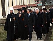 Президент Болгарии награжден орденом прп. Паисия Величковского Молдавской Православной Церкви