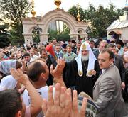 Святейший Патриарх Кирилл посетил кафедральный собор города Горловки