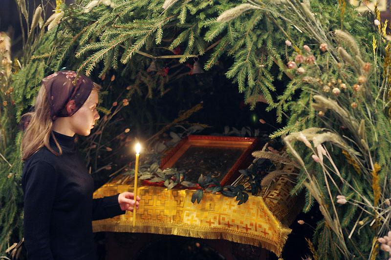 Рождественский вертеп. Храм св. мц. Татианы при МГУ