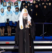 Слово Святейшего Патриарха Кирилла на открытом уроке «Духовные родники Подмосковья» в Коломне