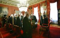 Открылось очередное заседание Священного Синода Русской Православной Церкви