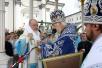 Последний день Патриаршего визита на Украину. Божественная литургия в Почаевской лавре.