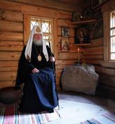 Святейший Патриарх Кирилл поклонился святыням Саровской Успенской пустыни