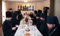 Предстоятель Русской Церкви встретился с членами Ассамблеи православных епископов Франции