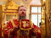 Патриаршее поздравление епископу Дмитровскому Александру в связи с 55-летием со дня рождения