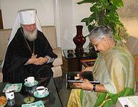 Начался визит митрополита Смоленского и Калининградского Кирилла в Индию