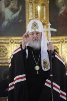 В среду первой седмицы Великого поста Святейший Патриарх Кирилл совершил Литургию Преждеосвященных Даров в Храме Христа Спасителя