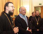 Никита Михалков встретился со студентами Московской духовной академии