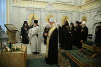 Заседание Священного Синода Русской Православной Церкви проходит в Москве