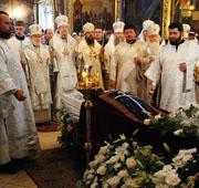 В Свято-Троицкой Сергиевой лавре состоялось отпевание архимандрита Матфея (Мормыля)