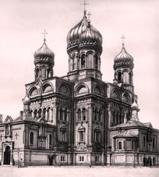 В Петербурге на месте уничтоженного храма Воскресения Христова (Мало-Коломенского) будет установлен поклонный крест