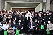 Святейший Патриарх Кирилл принял участие в работе III Сретенских встреч православной молодежи