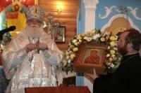 В Кирове освящена новая церковь, сооруженная по проекту храма в президентской резиденции на Валдае