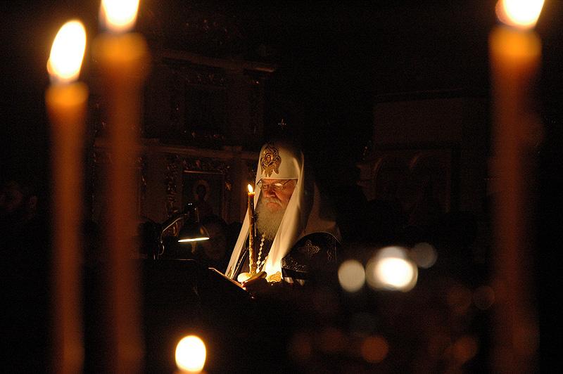 Среда первой седмицы Великого поста. Чтение Великого канона прп. Андрея Критского