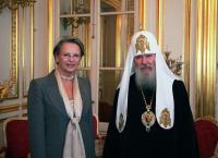 Предстоятель Русской Церкви встретился с министром внутренних дел Франции
