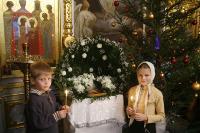 Рождественские вертепы в московских храмах
