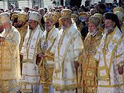 В торжествах, посвященных 1020-летию Крещения Руси, приняли участие представители большинства Поместных Православных Церквей